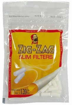 Zig Zag Slim Filter 34 Pack a 120 Stk.