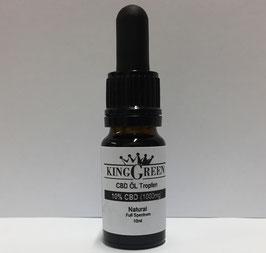 King Green CBD Öl Tropfen 10ml