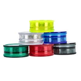 Grinder Acryl 2-Teilig: Transparent