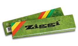 Ziggi Rolling Papers Classic Slim Hemp + Tips - 28Stk.