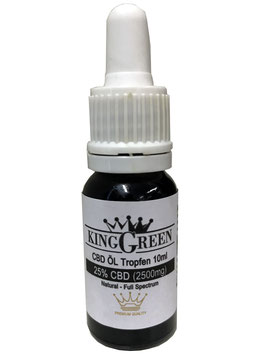 King Green CBD Öl Tropfen Premium Quality 10ml