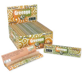 Greengo Unbleached King Size Slim Papier- 50er