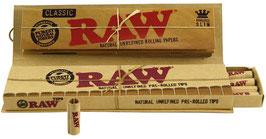 Raw Connoisseur KS Slim + vorgedrehte Tips (24 Stk)