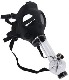 Gasmaske Mit Acryl Bong Hazard: Black