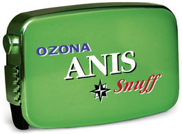 Ozona Anis Snuff (10 x 7g)