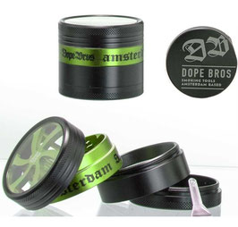 6 x Grinder Dope Bros 50mm - 4-teilig Amsterdam