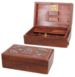 Kavatza Stone, Holzdose Mit Geheimverschluss