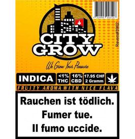 City-Grow Indica CBD Blüten 2g