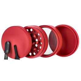 Grinder Aluminium 4-Teilig: Rot