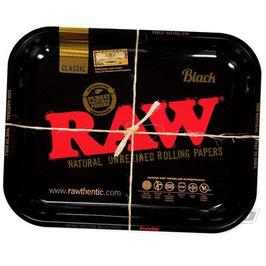Raw Black Tray, 27.5 X 17.5cm