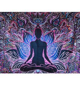 Wandtuch Psychedelic Buddha 200 x 180cm