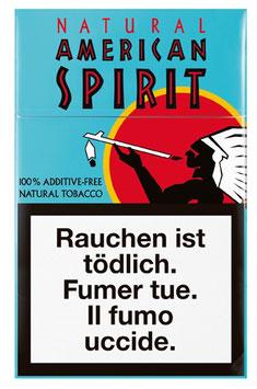 American Spirit Zigaretten Regular (blau) (10 Pack à 20 Zigaretten)