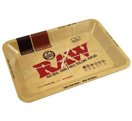 "Metal Rolling Tray ""Raw"""