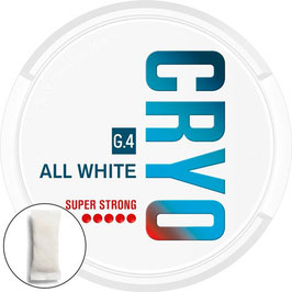 General G.4 CRYO All White Lutschtabak - Bags (5 x 19,2g)