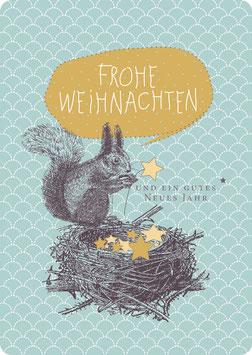 EICHHÖRCHEN im Nest (KL 14125)