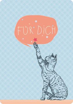 Postkarte – KATZE - Für Dich- (KL 14117)