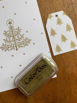 ColorBox Stempelfarbe – GOLD metallic