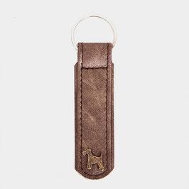 LUXDOX Schlüsselanhänger Stone