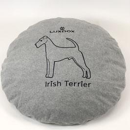 Irish Terrier XXL Rundkissen