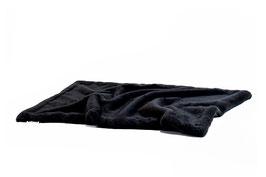 Hundedecke Webpelz black