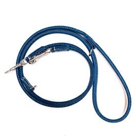 Leine Blue Jeans silberne Beschläge, rundgenäht