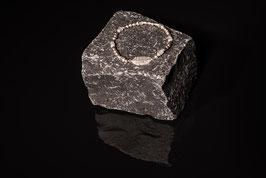 Silberarmband mit Achat und Feder, in 925er Echtsilber