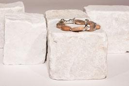 Sonnensteinarmband mit Achat und 925er Echtsilber SO001