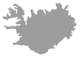 "Aufkleber ""Island"""