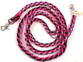 "Hundeleine ""Pink Glamour"""