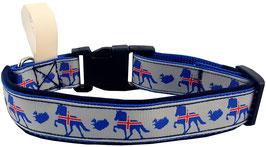 "Hundehalsband ""Island"""