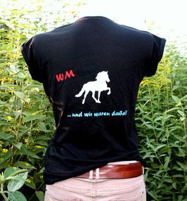 """T-Shirt """"WM schwarz"""""""