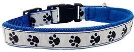 """Hundehalsband blau """"Hundur"""""""
