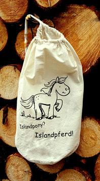 """Beutel """"Islandpferd"""""""