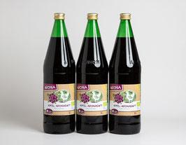 3 x Bio Apfel-Aroniadirektsaft 1 L