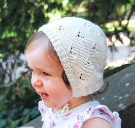'Kokett Bonnet'  Babymütze  (dt. Anleitung pdf)