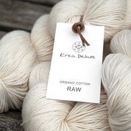 Bio-Baumwolle ungefärbt  Organic cotton RAW