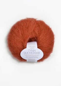 Tynn Silk Mohair Terrakotta 3835