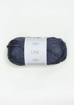 Line dunkles Graublau 6061