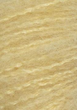 Børstet Alpakka Hellgelb