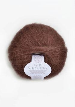 Tynn Silk Mohair Braun 4062