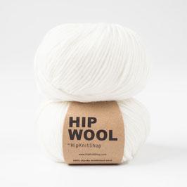 Hip Wool Dancing Snowflake White
