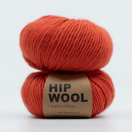 Hip Wool Runway Red