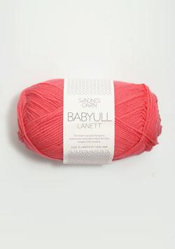 Babywolle Lanett Koralle
