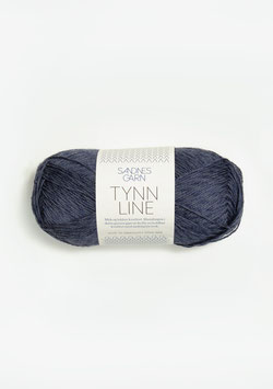 Tynn Line dunkles Graublau 6061