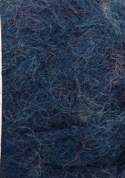 Børstet Alpakka Tintenblau