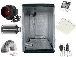 Komplettset 60x60x160 cm inkl. Flexstar 120 passiv gekühlter Vollspektrum LED