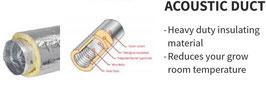 104 mm x 10 m schallgedämpfter Abluftschlauch