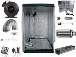 Nito GmbH Growbox Komplettset 140 x 140 x 200 cm NDL MH (1000 W NDL PRO)
