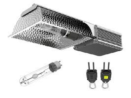 315 Watt CMH Lampe - übertrifft 600 W NDL - VSG, Reflektor und CMH Leuchtmittel
