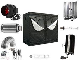 Growbox Komplettset Pro 240x120x200cm